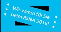 Bericht RSNA 2016