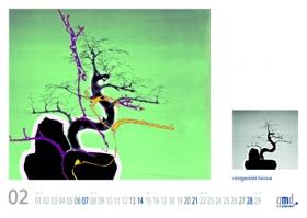 gmd pharma xray kunstkalender 2016 Bonsai Baum
